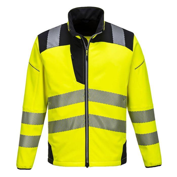 Portwest PW3 Hi-Vis Softshell Jacket - T402