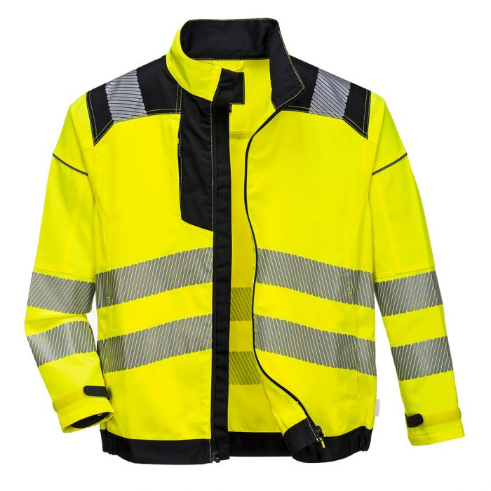 Portwest PW3 Hi-Vis Work Jacket - T500