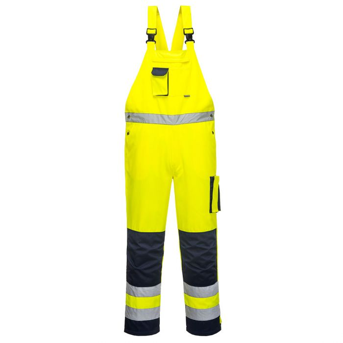Portwest Dijon Hi-Vis Bib and Brace - TX52