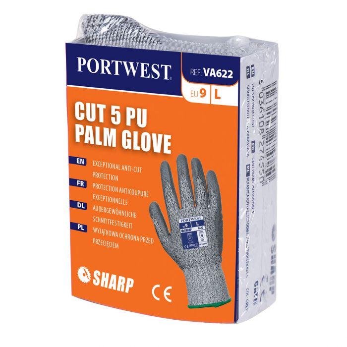 Portwest Vending Cut 5 PU Palm Glove - VA622