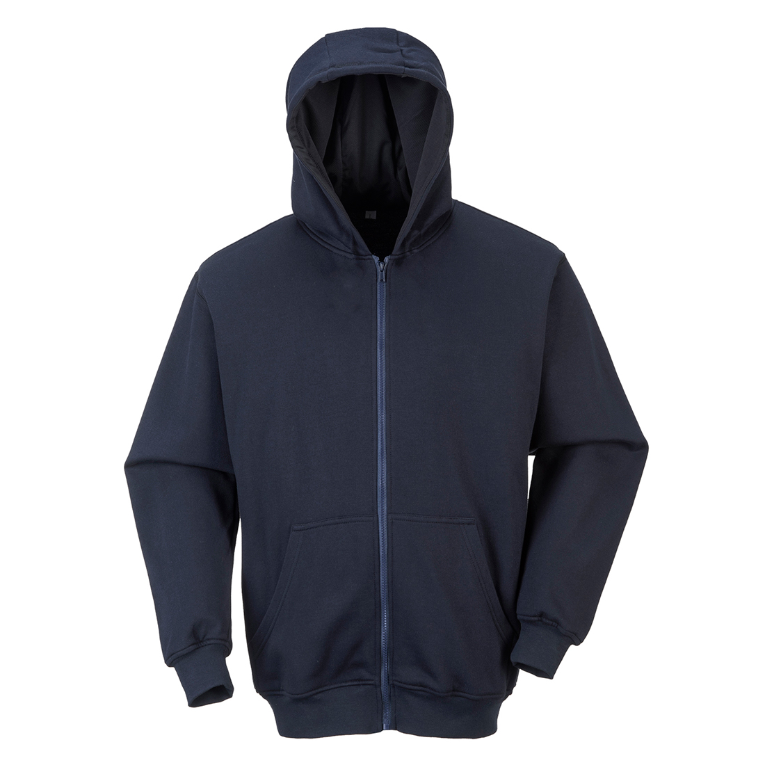Portwest FR Zip Front Hooded Sweatshirt - FR81