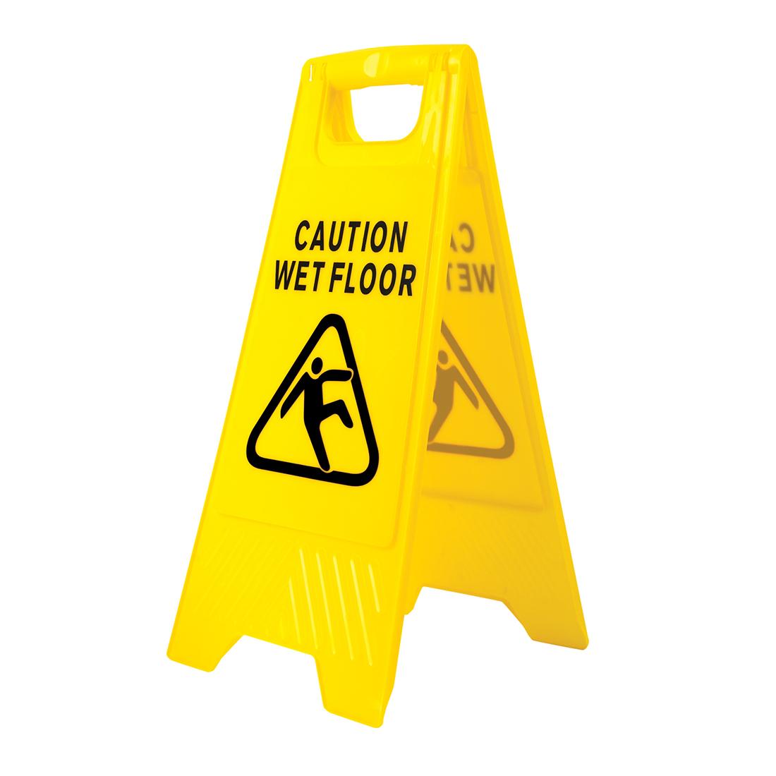 Portwest Wet Floor Warning Sign - HV20