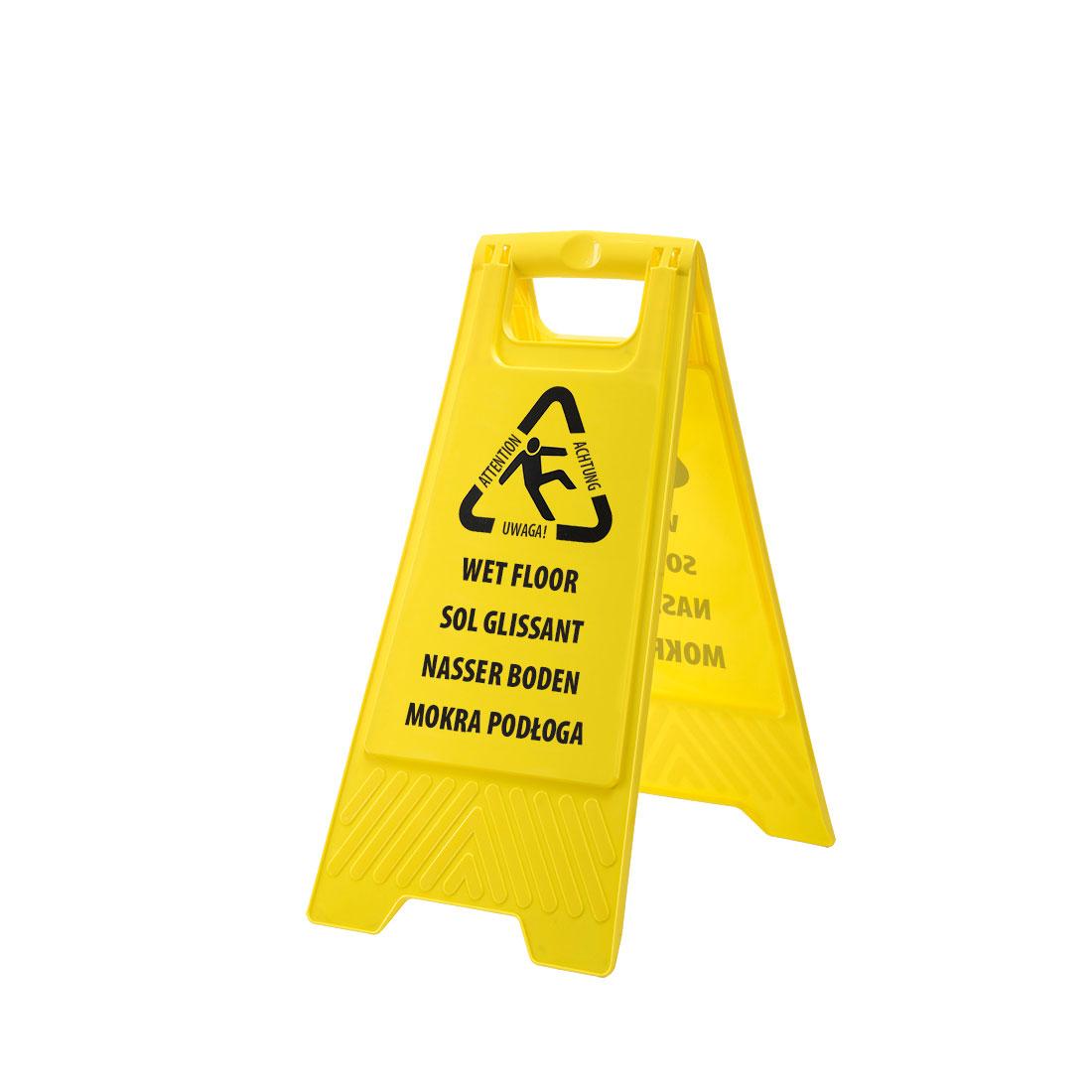 Portwest Euro Wet Floor Warning Sign - HV21
