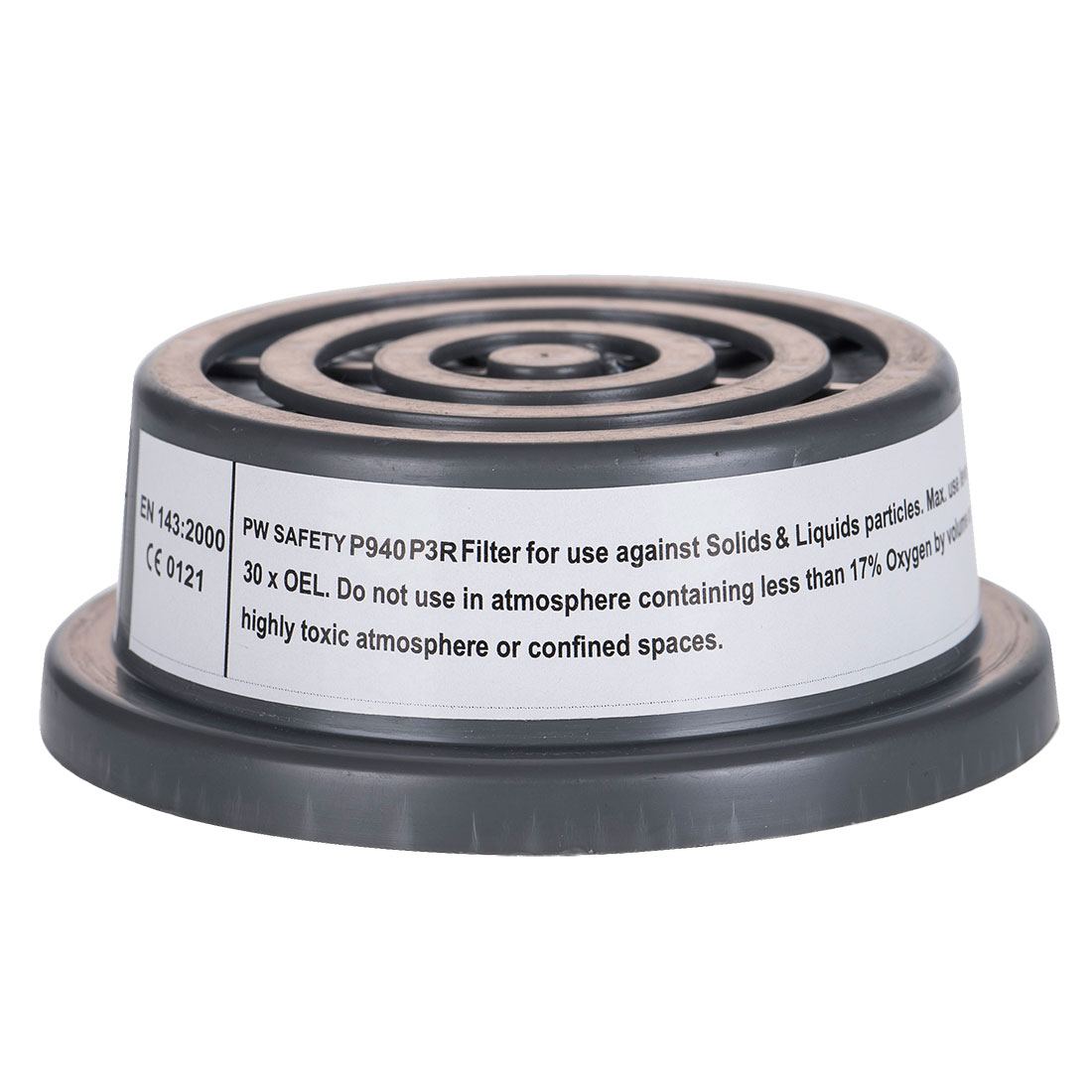 Portwest P3 Particle Filter Special Thread Connection - P940