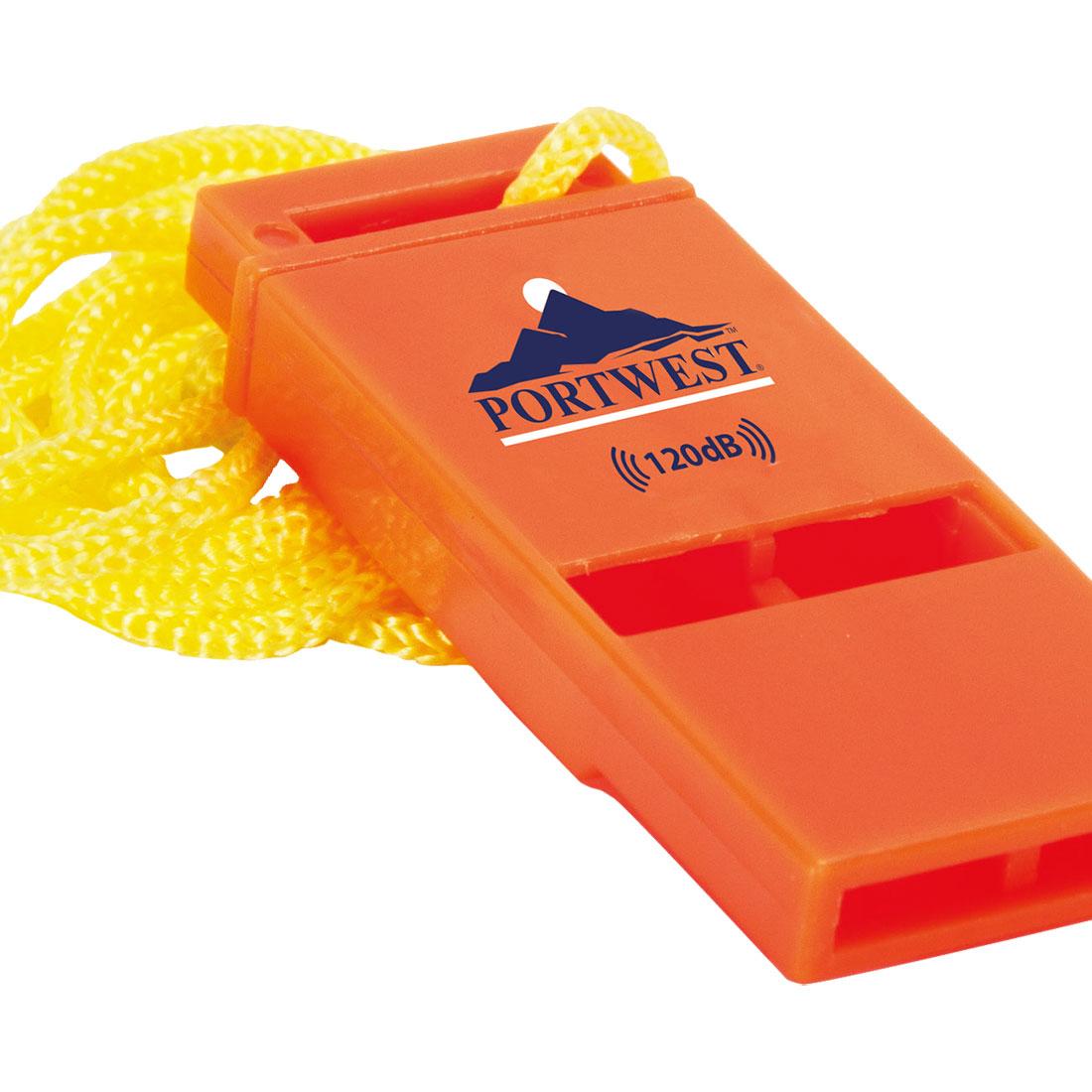 Portwest Slimline 120dB Safety Whistle - PA99