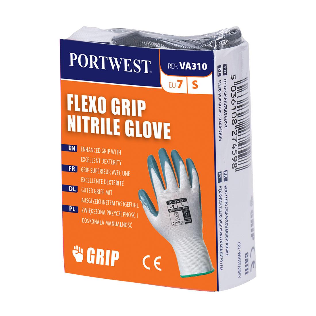 Portwest Flexo Grip Nitrile Glove (Vending) - VA310