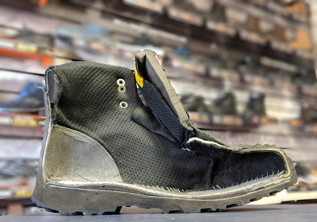 How Safety Footwear keeps you safe.